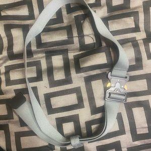 1017 Alyx 9SM work belt (grey)